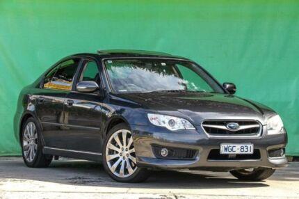 2008 Subaru Liberty B4 MY08 3.0R AWD Spec.B Grey 5 Speed Sports Automatic Sedan