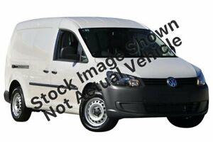2011 Volkswagen Caddy 2KN MY11 TDI250 White Sports Automatic Dual Clutch Van Minchinbury Blacktown Area Preview