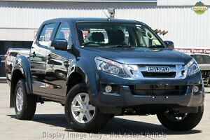 2014 Isuzu D-MAX MY14 LS-M Crew Cab Blue 5 Speed Sports Automatic Utility Moonah Glenorchy Area Preview