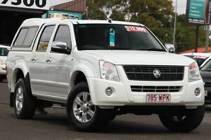 2008 Holden Rodeo RA MY08 LT Crew Cab White 4 Speed Automatic Utility Woodridge Logan Area Preview