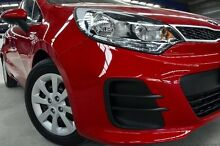 2015 Kia Rio UB MY15 S Red 4 Speed Automatic Hatchback Coopers Plains Brisbane South West Preview