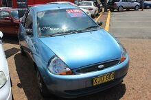 2001 Ford Ka  Blue 5 Speed Manual Hatchback Minchinbury Blacktown Area Preview