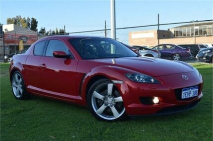 2004 Mazda RX-8 FE1031 Red Sports Automatic Coupe