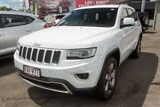 2015 Jeep Grand Cherokee WK MY15 Limited White 8 Speed Sports Automatic Wagon Slacks Creek Logan Area Preview