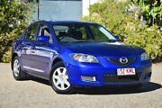 2007 Mazda 3 BK10F2 Neo Blue 5 Speed Manual Sedan Underwood Logan Area Preview