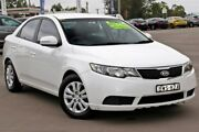 2010 Kia Cerato TD MY11 S White 6 Speed Sports Automatic Sedan McGraths Hill Hawkesbury Area Preview