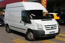 2012 Ford Transit VM MY13 350 High Roof White 6 Speed Manual Van Willagee Melville Area Preview
