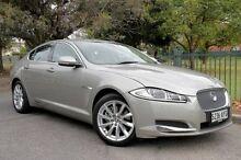2013 Jaguar XF X250 MY14 Luxury Gold 8 Speed Sports Automatic Sedan Eastwood Burnside Area Preview