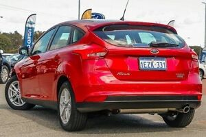 2015 Ford Focus LZ Trend Red 6 Speed Manual Hatchback Maddington Gosnells Area Preview