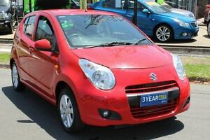 2010 Suzuki Alto GF GL Red 4 Speed Automatic Hatchback West Footscray Maribyrnong Area Preview