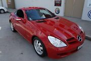 2004 Mercedes-Benz SLK200 Kompressor R171 Red Automatic Roadster Elderslie Camden Area Preview