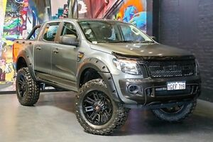 2015 Ford Ranger PX XL Double Cab White 6 Speed Sports Automatic Utility Northbridge Perth City Area Preview