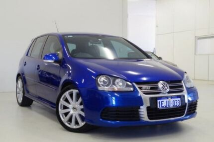 2008 Volkswagen Golf V MY08 R32 DSG 4MOTION Blue 6 Speed Sports Automatic Dual Clutch Hatchback Myaree Melville Area Preview