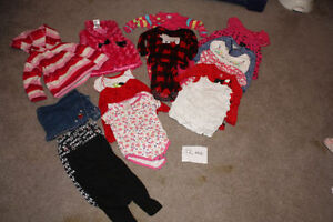 Baby Girl Size 12mo Lot