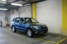 2012 Hyundai Santa Fe CM MY12 SLX Blue 6 Speed Sports Automatic Wagon Wayville Unley Area Preview