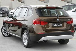 2010 BMW X1 E84 MY11 xDrive23d Steptronic Brown 6 Speed Sports Automatic Wagon North Melbourne Melbourne City Preview