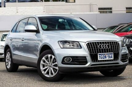 2013 Audi Q5 8R MY13 TDI S tronic quattro Silver 7 Speed Sports Automatic Dual Clutch Wagon Myaree Melville Area Preview