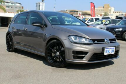 2015 Volkswagen Golf VII MY16 R DSG 4MOTION Wolfsburg Edition Limestone Grey 6 Speed