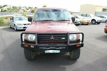 1993 Mitsubishi Pajero  Red Manual Wagon Devonport Devonport Area Preview