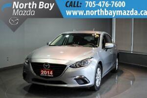 2014 Mazda Mazda3 GS-SKY Heated Front Seats + Back-Up Camera + A