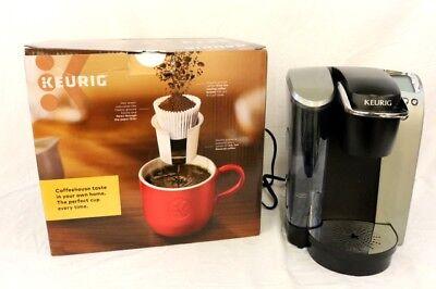 KEURIG K-ELITE Brushed Silver K-Cup Single Serve Coffee Maker UIB WORKS