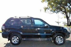 2008 Toyota Landcruiser Prado GRJ120R GXL Black 6 Speed Manual Wagon South Gladstone Gladstone City Preview
