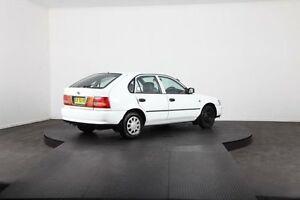 1999 Toyota Corolla AE101R CSi Seca White 4 Speed Automatic Liftback Mulgrave Hawkesbury Area Preview