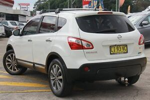 2010 Nissan Dualis J10 Series II TI (4x2) White 6 Speed CVT Auto Sequential Wagon Wolli Creek Rockdale Area Preview
