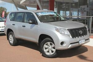 2013 Toyota Landcruiser Prado KDJ150R MY14 GX Silver Pearl 5 Speed Sports Automatic Wagon Myaree Melville Area Preview