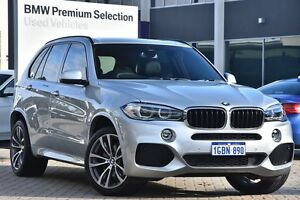 2015 BMW X5 F15 sDrive25d Silver 8 Speed Automatic Wagon Victoria Park Victoria Park Area Preview