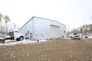 Huge Shop + Acreage! Perfect for Your Home Based Business!