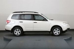 2008 Subaru Forester MY09 X White 4 Speed Auto Elec Sportshift Wagon Smithfield Parramatta Area Preview