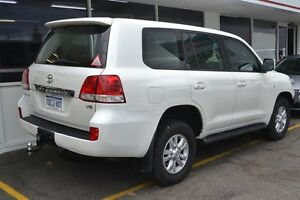 2009 Toyota Landcruiser VDJ200R MY10 Sahara Crystal Pearl 6 Speed Sports Automatic Wagon Claremont Nedlands Area Preview