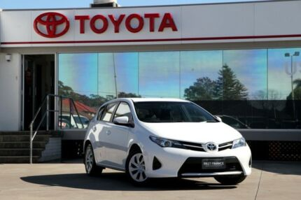 2014 Toyota Corolla ZRE182R Ascent White 7 Speed CVT Auto Sequential Hatchback Old Guildford Fairfield Area Preview