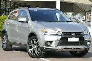 2018 Mitsubishi ASX XC MY18 LS 2WD Silver 6 Speed Constant Variable Wagon Christies Beach Morphett Vale Area Preview