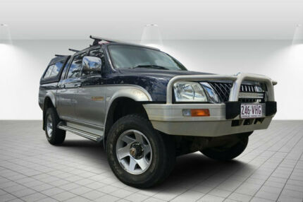 2004 Mitsubishi Triton MK MY04 GLS Double Cab Silver 4 Speed Automatic Utility Svensson Heights Bundaberg City Preview
