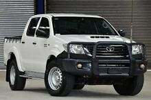 2012 Toyota Hilux KUN26R MY12 SR (4x4) White 4 Speed Automatic Dual Cab Pick-up Coopers Plains Brisbane South West Preview
