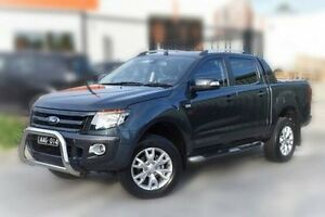 2012 Ford Ranger PX Wildtrak Double Cab Grey 6 Speed Sports Automatic Utility Berwick Casey Area Preview