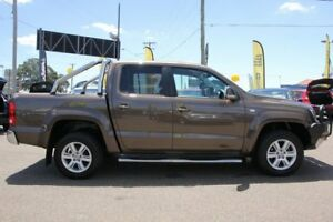 2014 Volkswagen Amarok 2H MY14 TDI420 4Motion Perm Highline Brown 8 Speed Automatic Utility