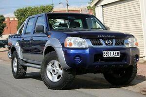 2004 Nissan Navara D22 MY2003 ST-R Blue 5 Speed Manual Utility Glenelg Holdfast Bay Preview