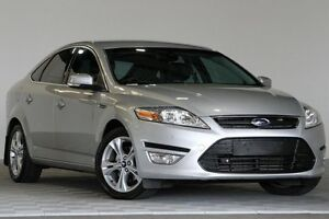2012 Ford Mondeo MC Zetec Tdci Silver 6 Speed Direct Shift Hatchback Coopers Plains Brisbane South West Preview