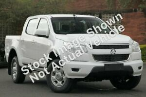 2013 Holden Colorado RG MY13 LX Crew Cab 4x2 White 6 Speed Sports Automatic Utility South Melbourne Port Phillip Preview
