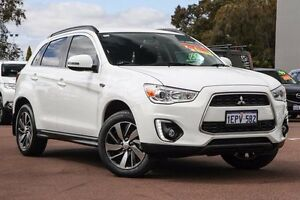 2014 Mitsubishi ASX XB MY15 LS 2WD White 5 Speed Manual Wagon Cannington Canning Area Preview