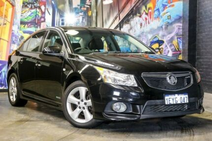 2012 Holden Cruze JH Series II MY12 SRi-V Black 6 Speed Sports Automatic Sedan Perth Perth City Area Preview