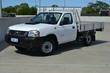2011 Nissan Navara D22 MY2010 DX White 5 Speed Manual Cab Chassis Midland Swan Area Preview
