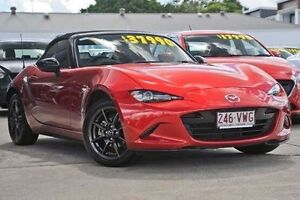 2015 Mazda MX-5 ND GT SKYACTIV-Drive Red 6 Speed Sports Automatic Roadster Mount Gravatt Brisbane South East Preview