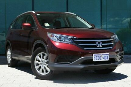 2014 Honda CR-V RM MY15 VTi 4WD Carnelian Red 5 Speed Automatic Wagon Victoria Park Victoria Park Area Preview