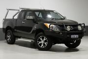 2012 Mazda BT-50 XTR (4x4) Black 6 Speed Manual Freestyle Utility Bentley Canning Area Preview