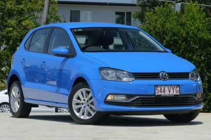 2015 Volkswagen Polo 6R MY16 81TSI DSG Comfortline Blue 7 Speed Sports Automatic Dual Clutch Kedron Brisbane North East Preview