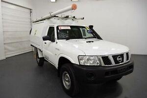 2011 Nissan Patrol GU MY08 DX (4x4) White 5 Speed Manual Moorabbin Kingston Area Preview